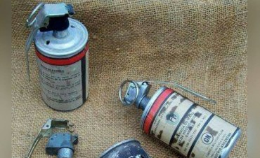 Hallaron una granada mientras perseguían a un sospechoso