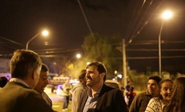 Acuerdo Capital: Ciudad y Provincia inauguraron obras de iluminación en Nueva Pompeya