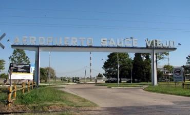 El Aeropuerto Sauce Viejo no operará por 90 días