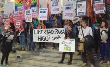 Movilizaciones para pedir por la liberación de Higui