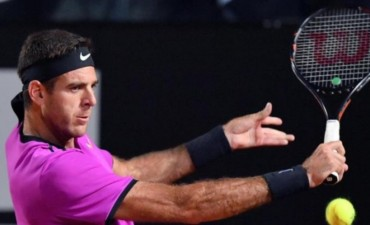 Djokovic no le dio chances a Del Potro