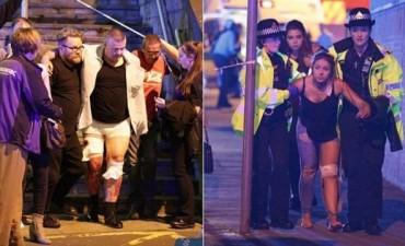 Inglaterra: al menos 22 muertos y 59 heridos en un show de Ariana Grande
