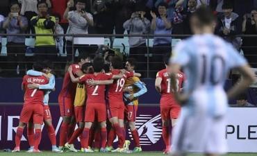 Argentina mereció más pero volvió a perder en el Mundial Sub 20