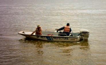 Hallaron el cadáver del pescador desaparecido en aguas del río Salado