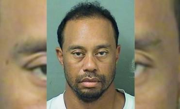 Arrestaron a Tiger Woods en Florida por manejar alcoholizado