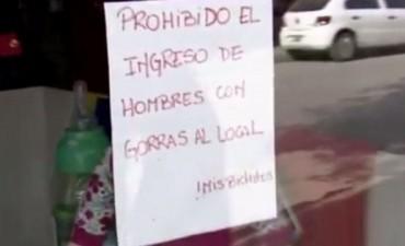 Comerciantes de Villa Gobernador Gálvez prohibirán el ingreso con gorras a los locales