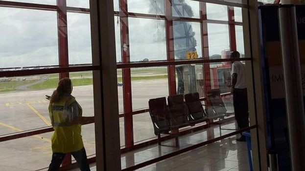 Cuba: un avión con pasajeros se estrelló apenas despegó de La Habana