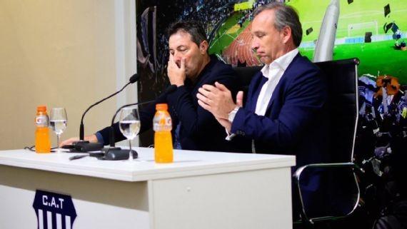Entre lágrimas, Frank Darío Kudelka se despidió de Talleres de Córdoba