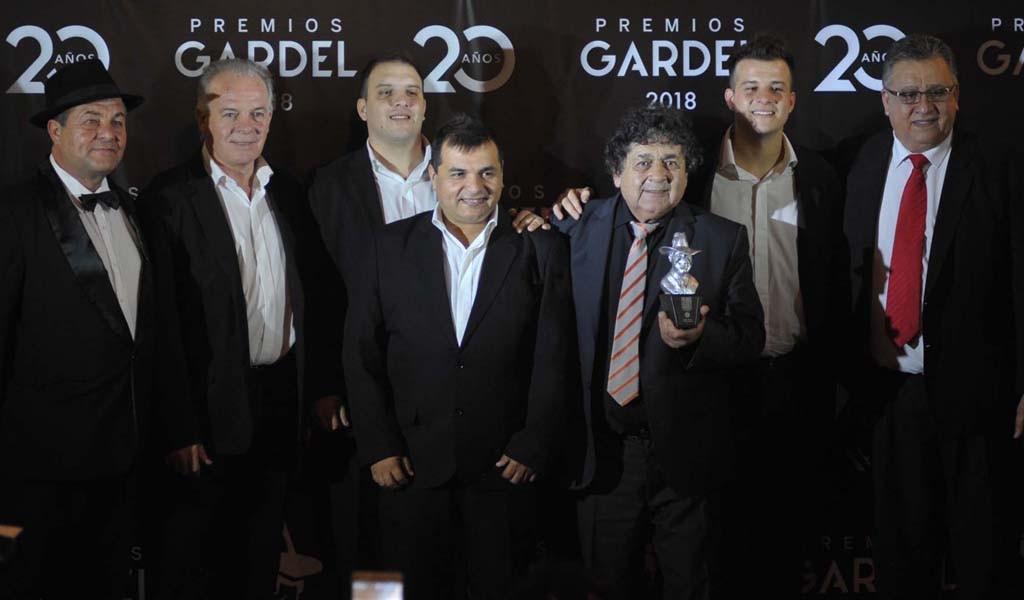 Los Palmeras se llevaron su sexto premio Gardel