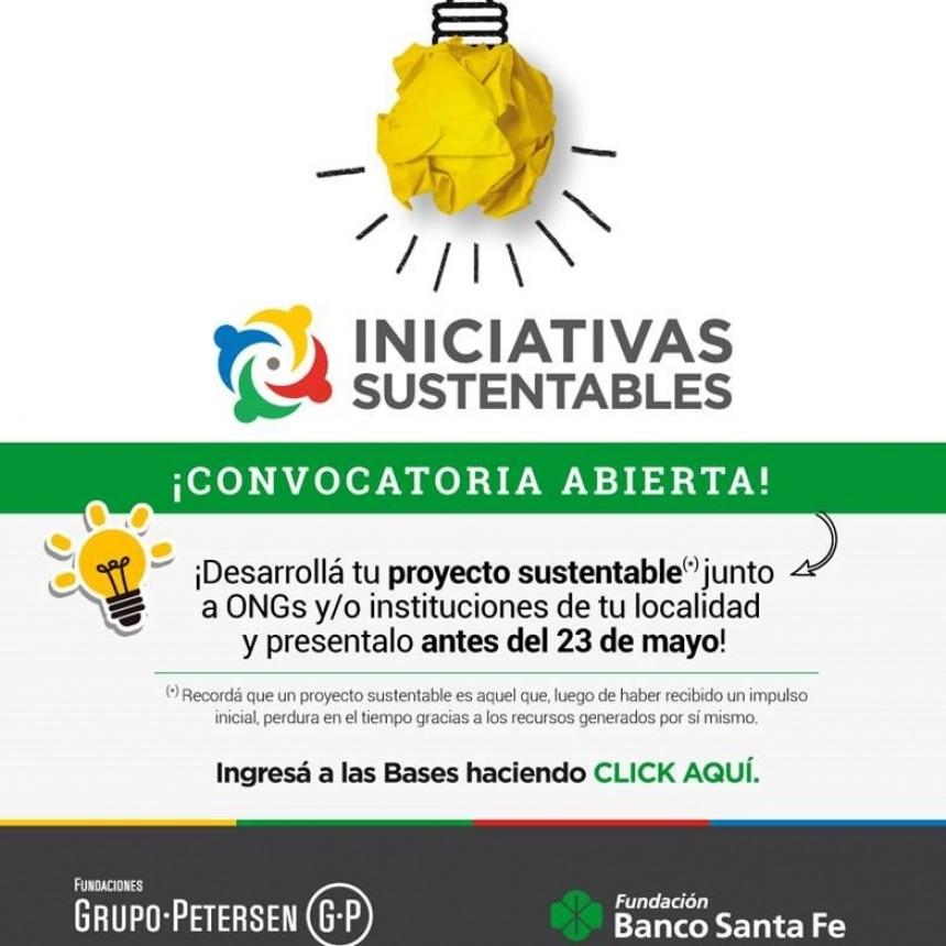 La Fundación Banco Santa Fe lanzó el tercer concurso de iniciativas sustentables