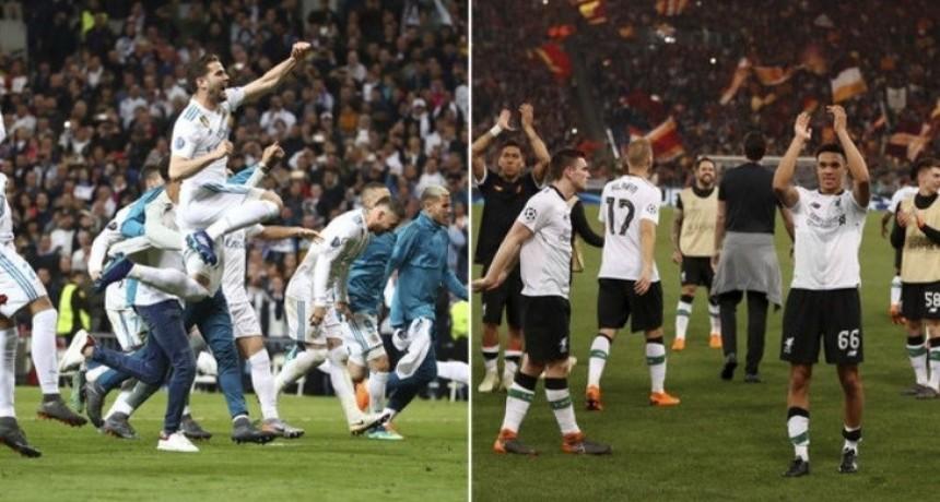 Real Madrid y Liverpool chocarán por la final de la Champions League