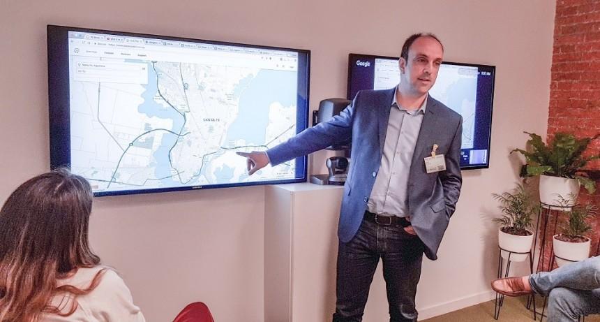 José Corral participó del lanzamiento del programa Ciudadanos Conectados