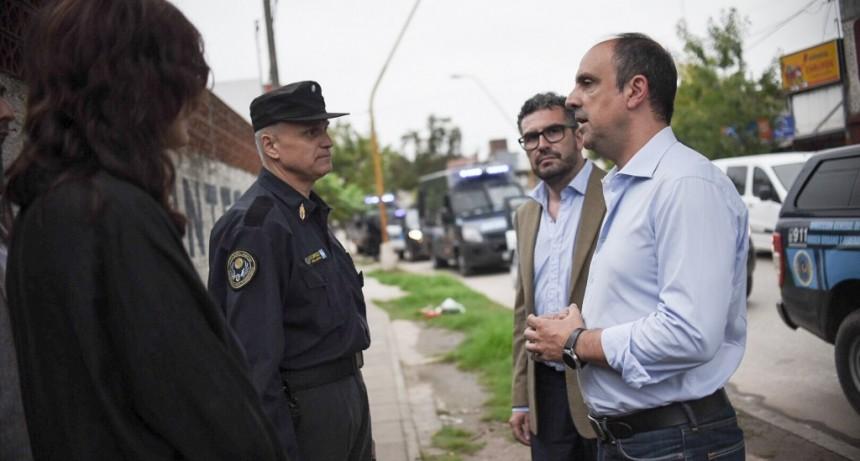 Comenzó el despliegue de los policías federales en la ciudad