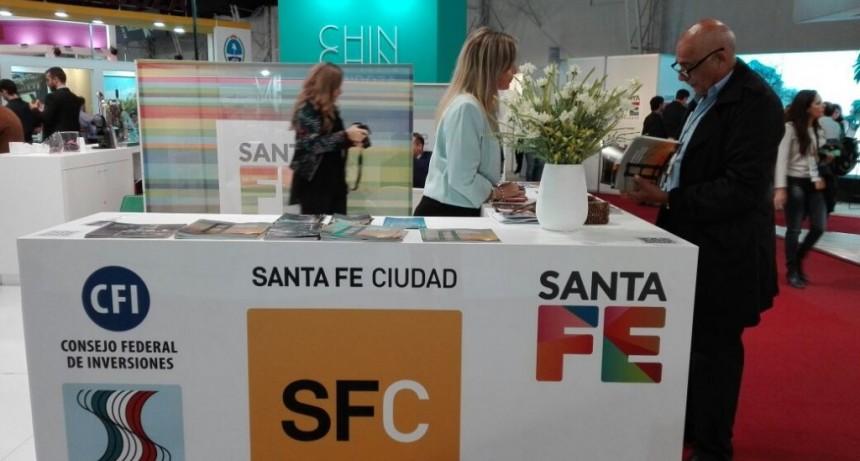 Santa Fe tuvo su delegación en Expoeventos