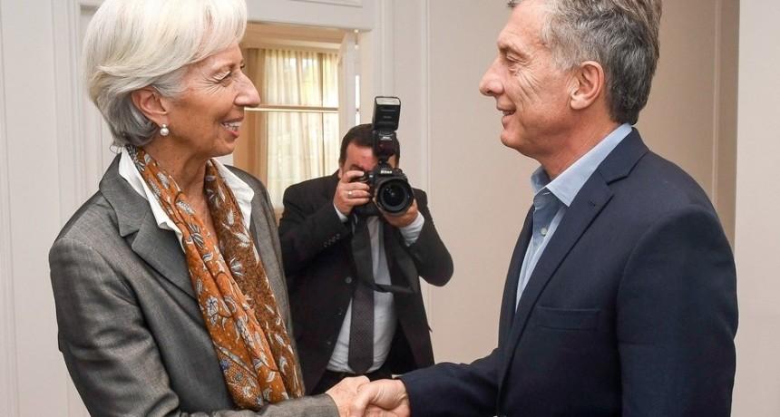 Macri anunció el inicio de negociaciones con el FMI