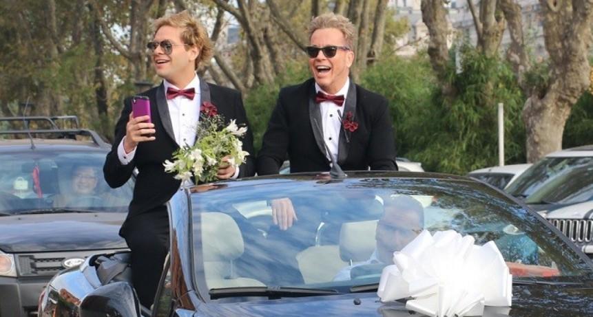 Se casaron Guido Süller y Tomasito
