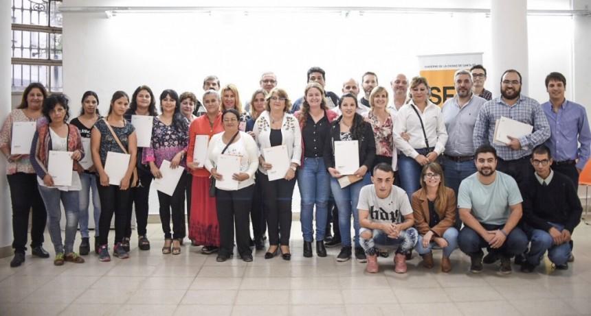 Municipio y Nación trabajan en equipo para acompañar a los emprendedores locales