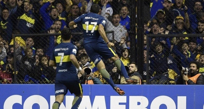 Boca goleó y se metió en Octavos de la Libertadores