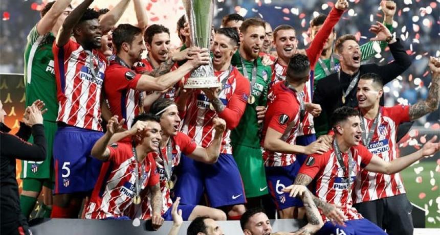 El Atlético Madrid de Simeone se consagró campeón de la Europa League