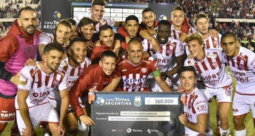 Unión avanza en la Copa Argentina