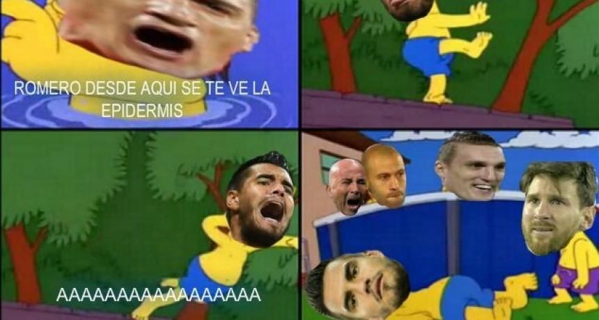 Los memes tras la lesión de Sergio Romero