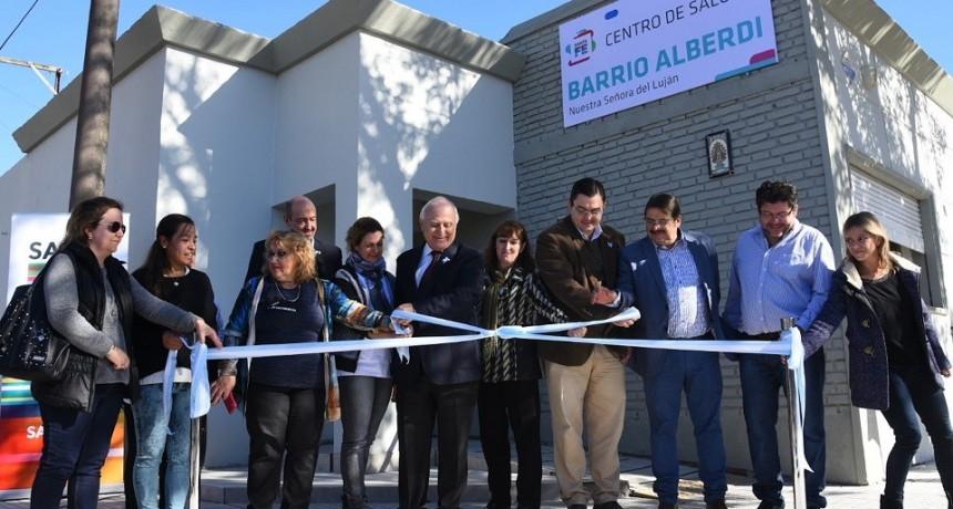 Lifschitz inauguró obras de mejoras en un centro de salud de la ciudad de Casilda