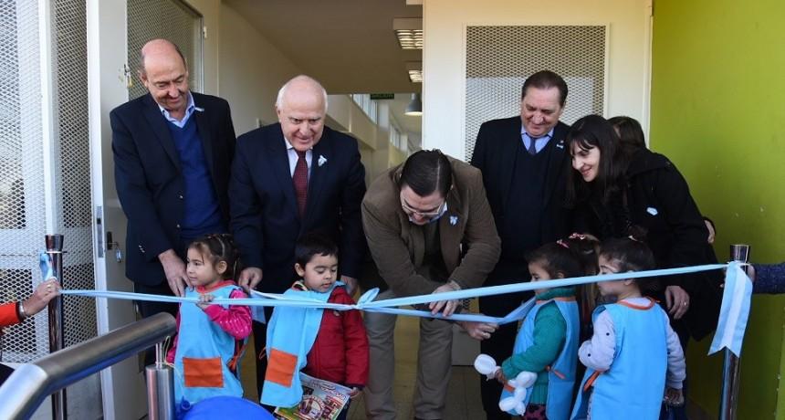 Lifschitz inauguró un nuevo Centro de Cuidado Infantil en Casilda