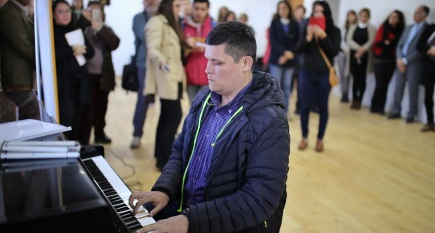 El Liceo Municipal tendrá la primera Biblioteca Musical en Braille de la región