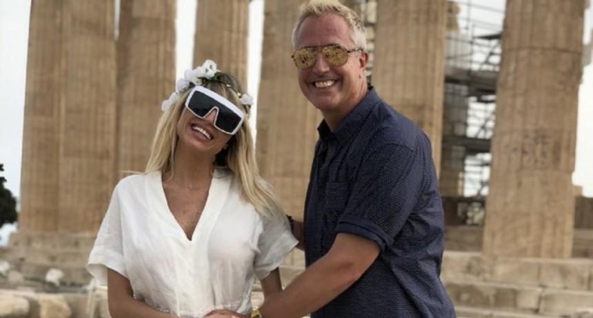 Vicky Xipolitakis está embarazada y se lo contó a Marley en vivo desde Grecia