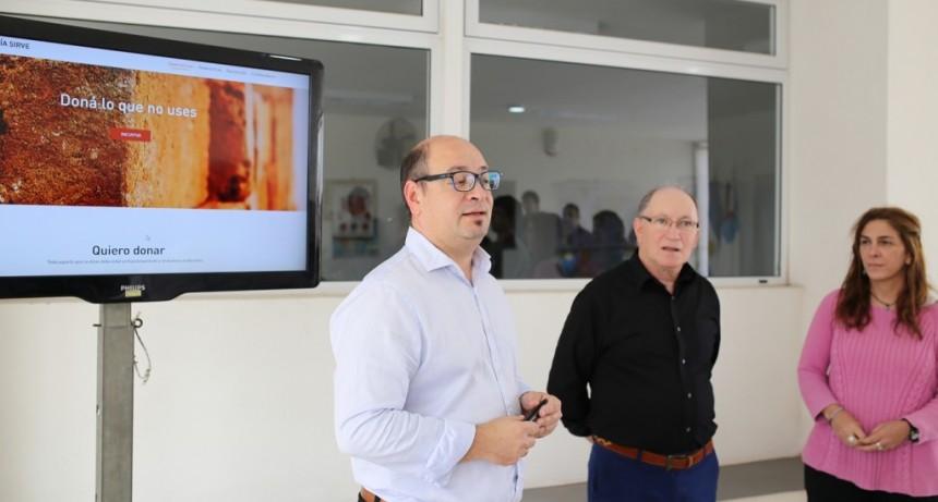 La Ciudad ya tiene su Banco Social de Elementos en Desuso