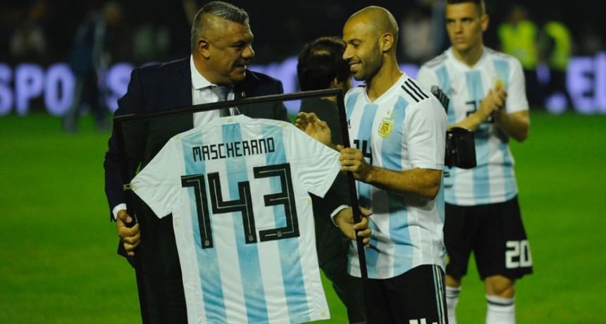 El reconocimiento a Javier Mascherano en la Bombonera