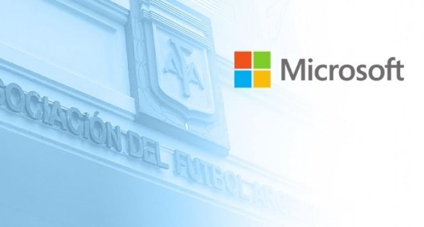 AFA y Microsoft firman un acuerdo estratégico
