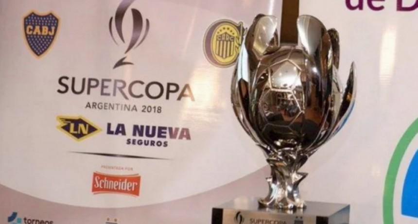 Boca vs Rosario Central en la final de la Supercopa Argentina