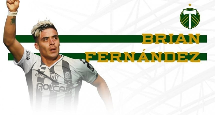Brian Fernández jugará en Portland Timbers de Estados Unidos