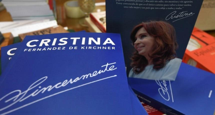 Expectativa por la presentación del libro de Cristina Kirchner en La Rural
