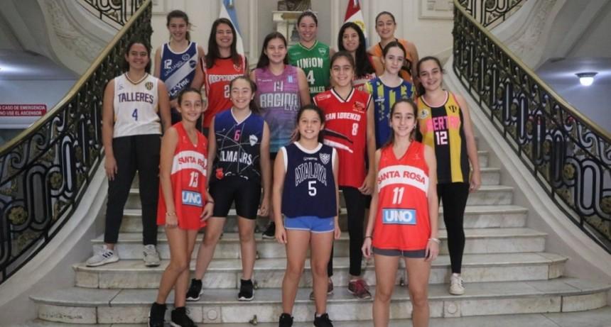 Presentaron la Copa Santa Fe de Básquet Femenino y el Argentino Masculino u15