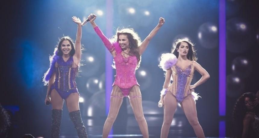 Lali, Natti Natasha y Thalía, juntas por primera vez