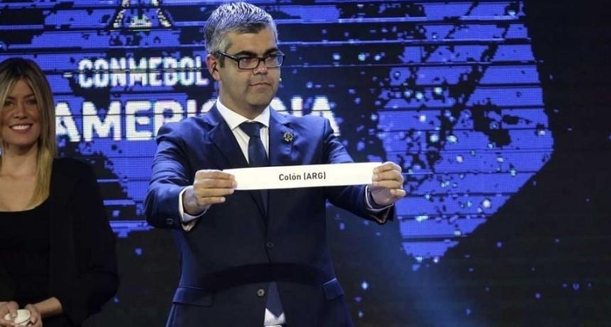 Colón jugará ante River Plate de Uruguay por Copa Sudamericana