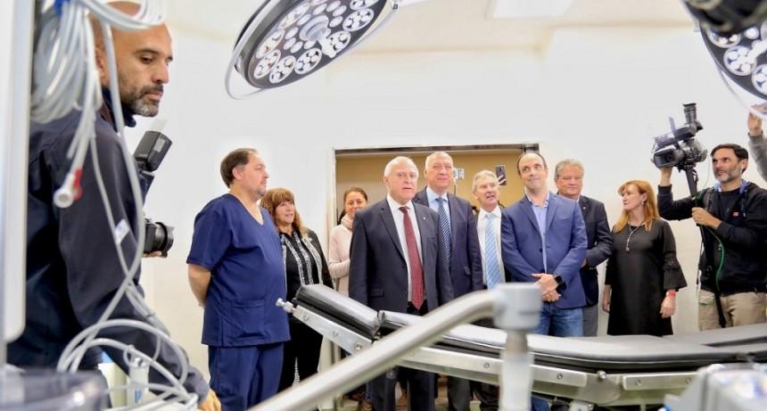 Lifschitz inauguró el nuevo Hospital Iturraspe