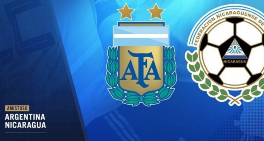 Argentina jugará frente a Nicaragua en la previa de la Copa América