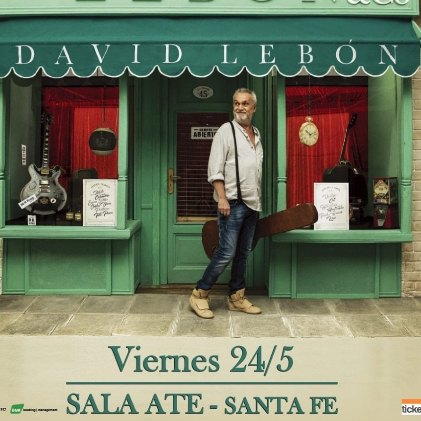 David Lebón presenta