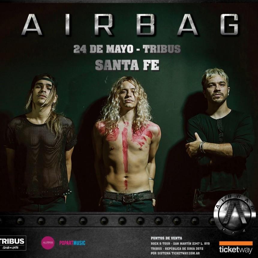 Airbag se presenta en Santa Fe