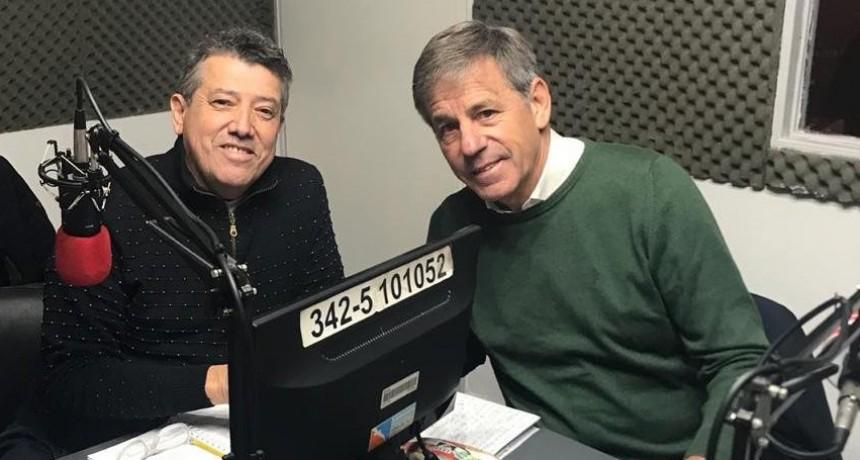 Emilio Jatón visitó Radio de Noticias