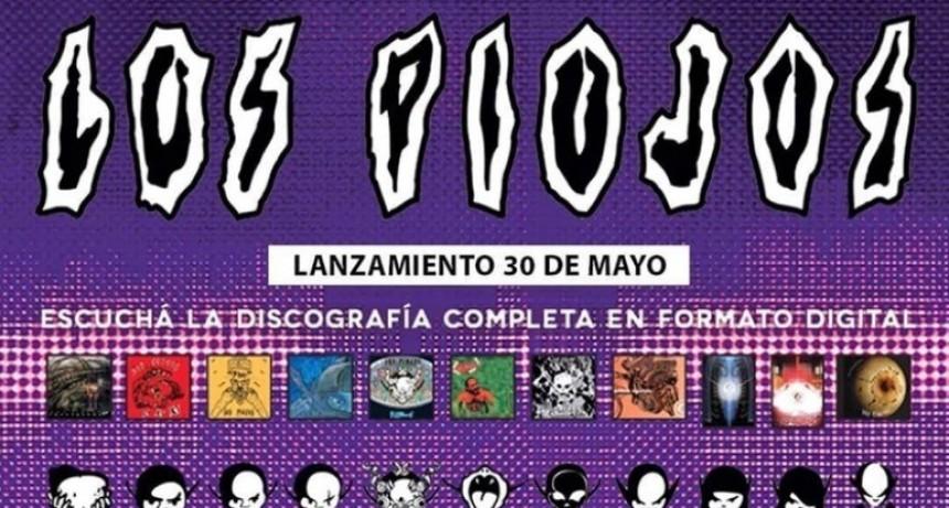 Los Piojos lanzaron toda su discografía en plataformas digitales