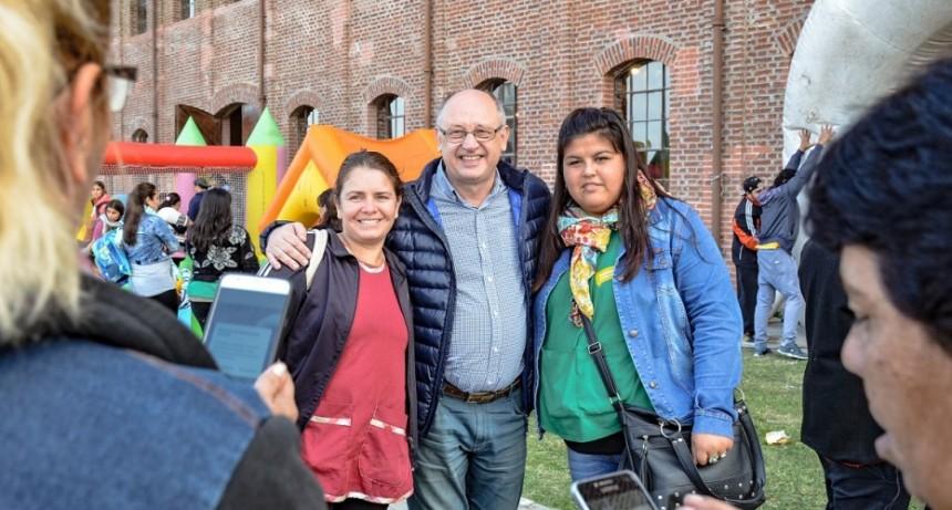 El Municipio celebró el Día de los Jardines y de la Maestra Jardinera