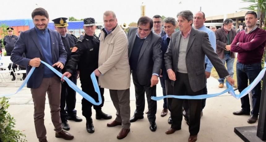 Se inauguró una estación de bomberos en el Túnel Subfluvial