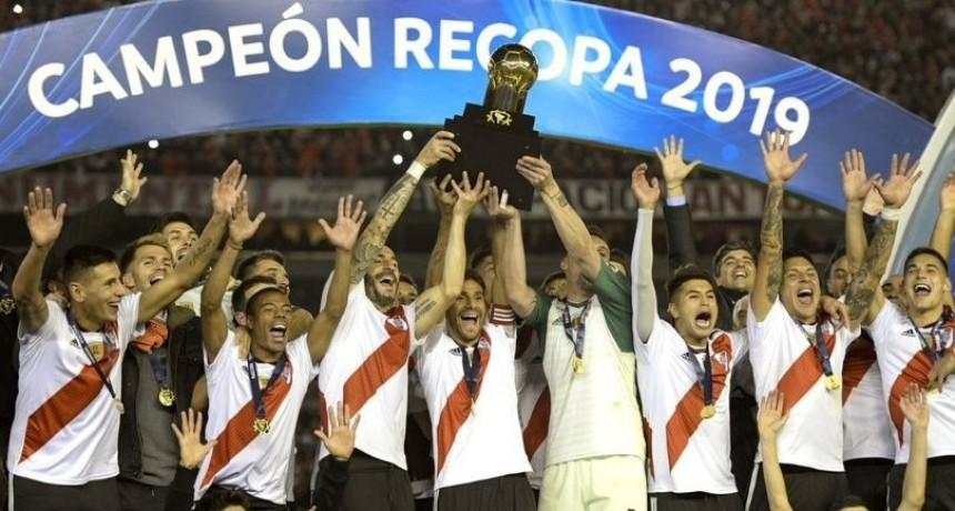 River campeón de la Recopa Sudamericana: Goleó 3 a 0 Athletico Paranaense