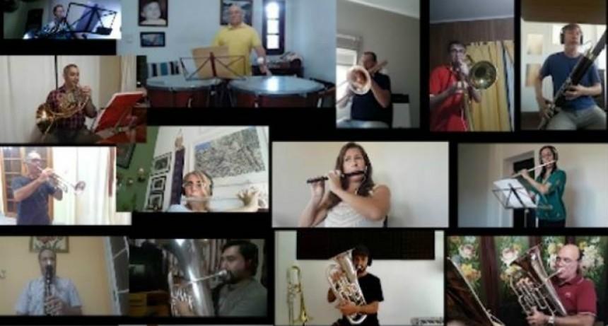 Banda Sinfónica Municipal: estreno en las redes, hasta el próximo concierto
