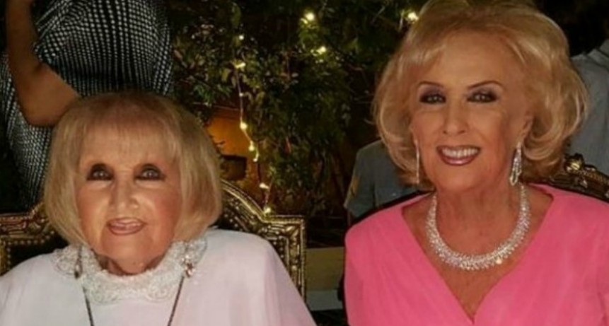 A los 93 años, murió Goldie, la hermana gemela de Mirtha Legrand