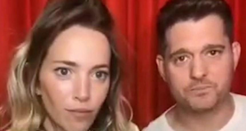 Michael Bublé y Luisana Lopilato dejarán de hacer vivos en las redes